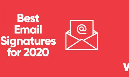 Best email signature for 2020 with email icon