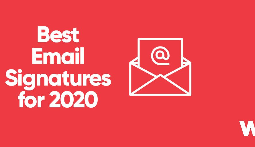 Best Email Signatures for 2020